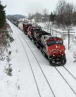 CN 2554 east at Mile 5.8 Strathroy Sub.