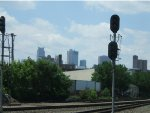 Harriston Street and the Mpls. Skyline