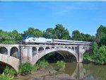 Amtrak #114 Pulls 392 Across The Big Muddy