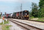 IC #1009 Pulling A Southbound Mixed Freight