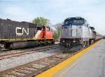 Amtrak #508 And CN #5624