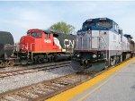 Amtrak #508 And CN #9455