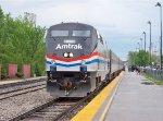 Amtrak #822 Leading Amtrak 392