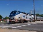 Amtrak 392 Departs