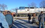 Amtrak #517 Backs Off The Rock Track