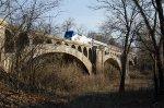Amtrak 392 Crossing the Big Muddy River