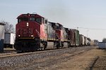 CN #2503 Leads A Northbound Manifest
