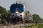 Amtrak #50 Leading 392