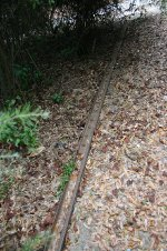 Old stick of rail