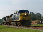 CSX #357 And CSX #4537 Power Move