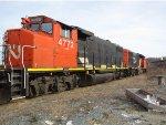 CN 503 Backing Into DD36
