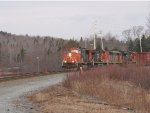CN 120 Rounding the Corner at MP15