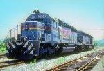 SBD SD40-2 8083