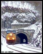 E722 @ Stuart Tunnel