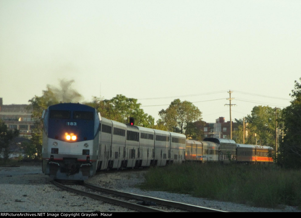 IC Themed Amtrak