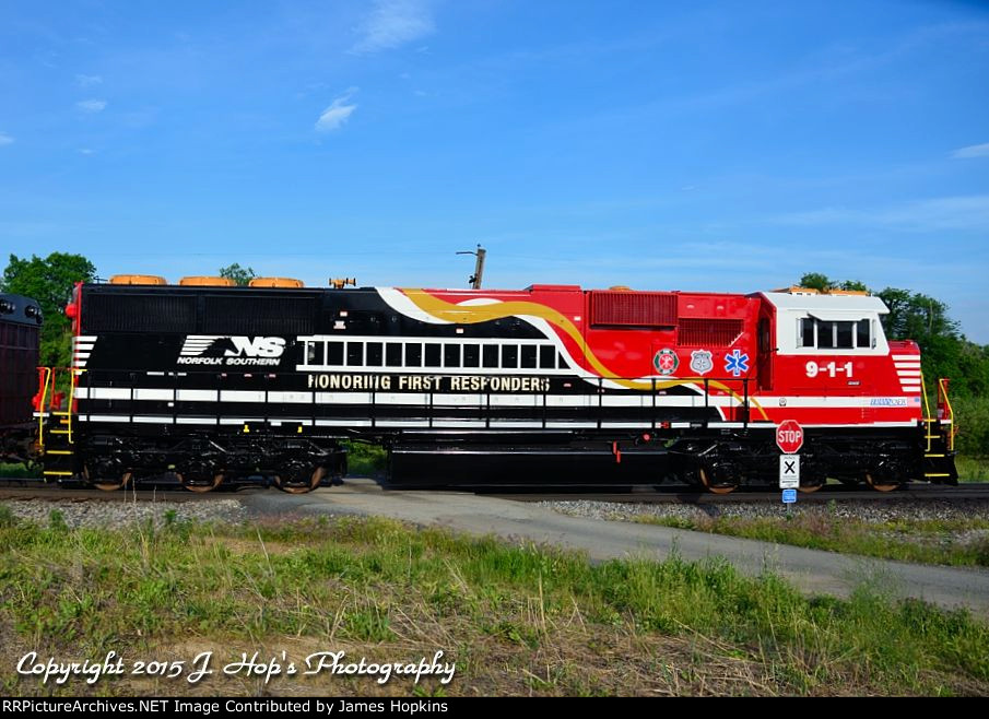 Norfolk Southern Transportation 956 Crossing