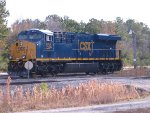 "CSX 958 With new ""boxcar"" logo"