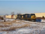 CSX 5400 & 8055 make their way east with Q334-30