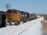 BNSF 740 & NS 2531 begin westward with CSX's Q335-11