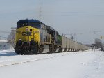 CSX 608 & 8620 gain speed with 100 coal loads