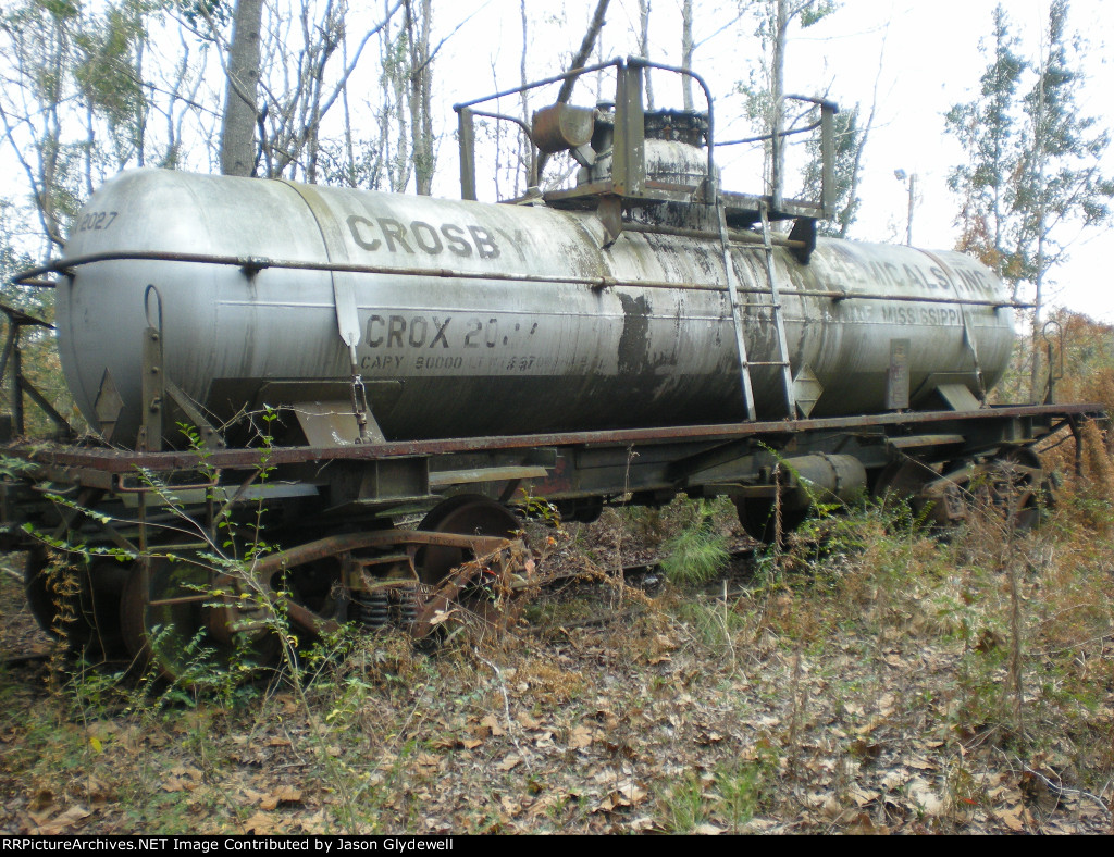 Crosby Chemicals tank car