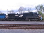 NS 8406 in the Newberry yard