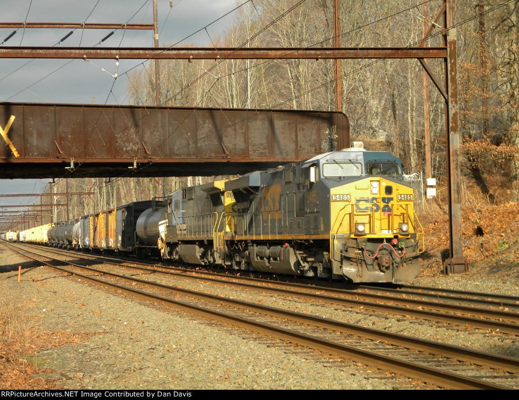 CSX 5485 S439-19