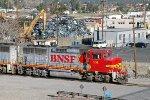 BNSF 101 - Kaiser, Fontana, CA - 2/12/11