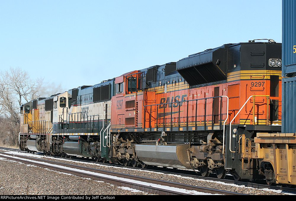 Quite the colorful consist
