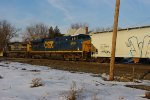 CSX 5420 an ES44DC trails CSX 7651