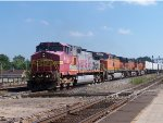 BNSF #641 Leading A Trailer Train
