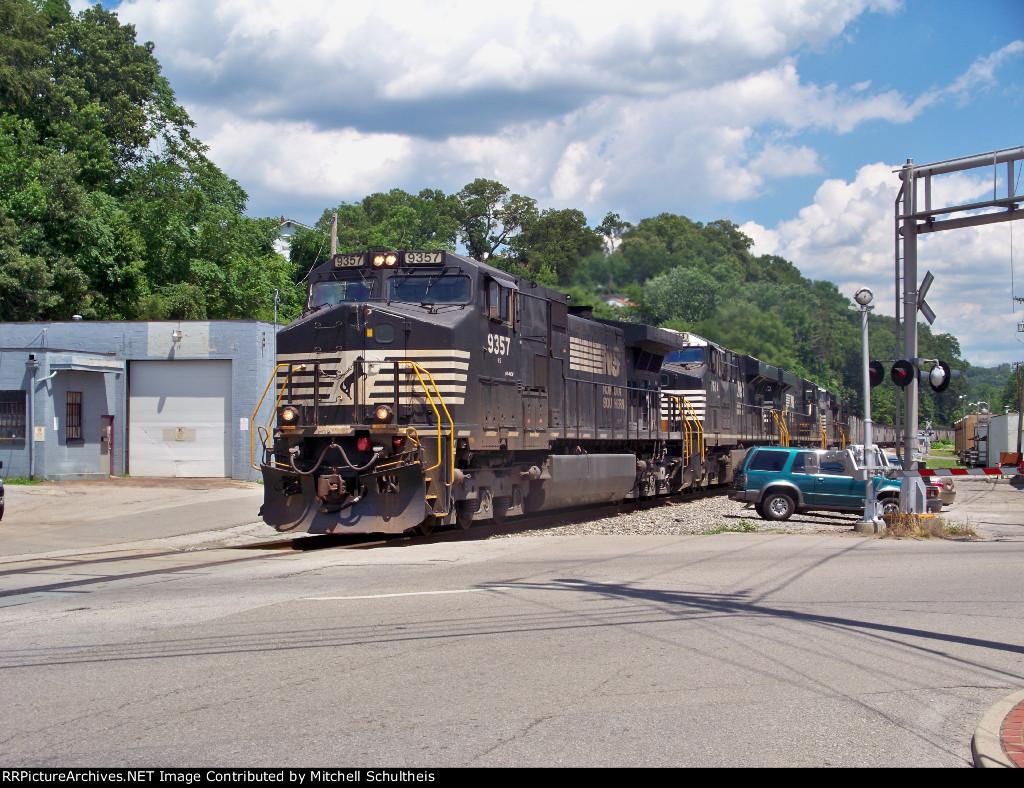 NS #9357 Leading A Coal Train