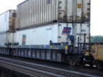 NCKU 680269 Container on a Pacer Stacktrain COFC car