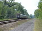 AMTK 55 approaches the Trestle w/a high green at CP 320