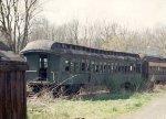 Former DL&W-BR&W wooden coach