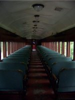 Interior of former RDG 1127