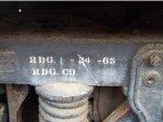 RDG 1536 truck detail