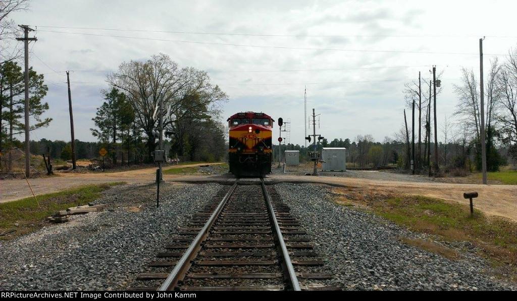 KCS 4696 DPU Railshot