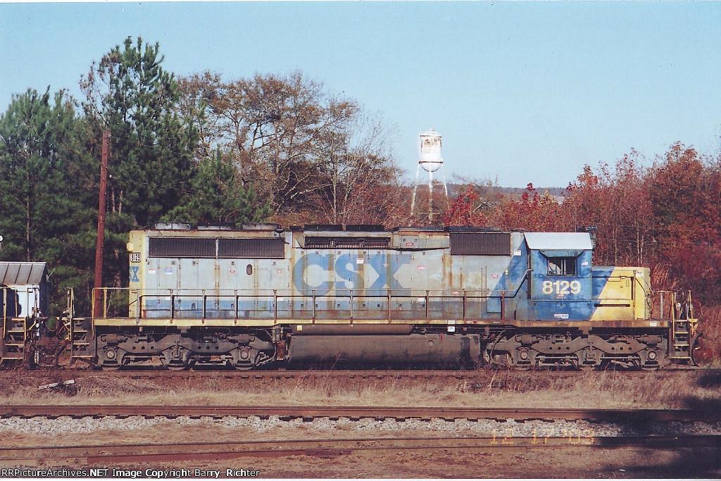 CSX SD40-2 8129