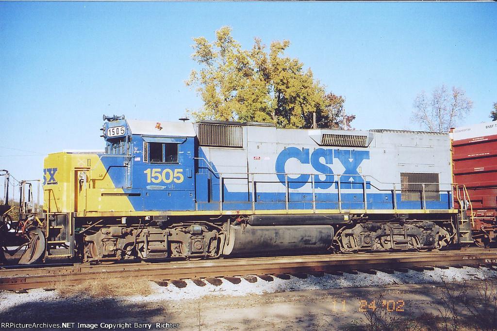 CSX GP15T 1505