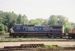 CSX C40-8W 7839