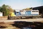 CSX SD40-2 8349