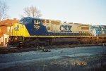CSX C40-8W 7321