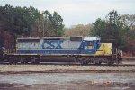 CSX SD40-2 8058