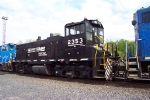 Norfolk Southern 2353  MP15DC at Abrams Yard.