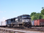 Norfolk Southern C40-9W  9414 Works Abrams Yard.  7/13/05