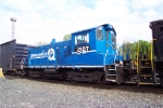 PRR (Norfolk Southern ) SW 1001 2107  in Conrail Quality Paint at Abrams Yard.
