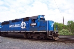 PRR (NS) 3058 still in Conrail Quality Paint at Abrams Yard.