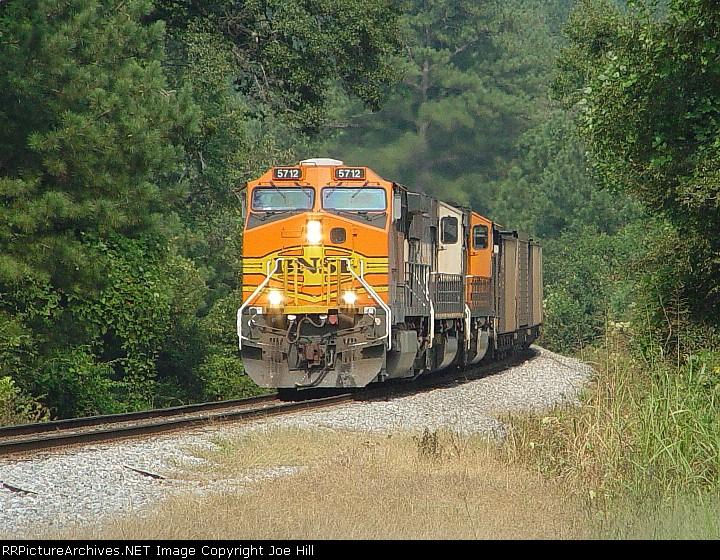 BNSF 5712 (NS 735 reroute)