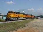 BNSF 9901 (NS #733; Scherer reroute)